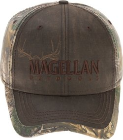 Magellan Outdoors Men's Red River Wax Etched Hat