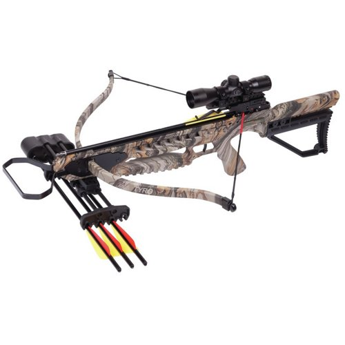 Crosman Tyro Recurve Crossbow Package
