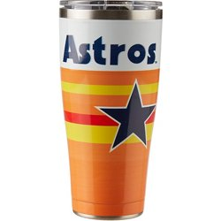 Houston Astros 30 oz Retro Stainless-Steel Tumbler