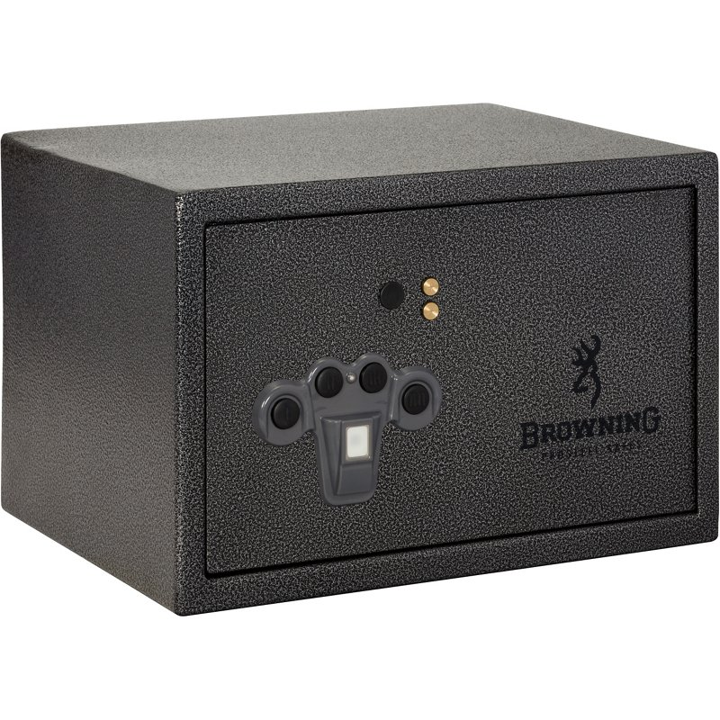 Browning 1500 Biometric Portable Pistol Vault Charcoal – Safes Cabinets And Accessories at Academy Sports