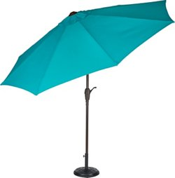 Mosaic 9 ft Aluminum Frame Market Umbrella