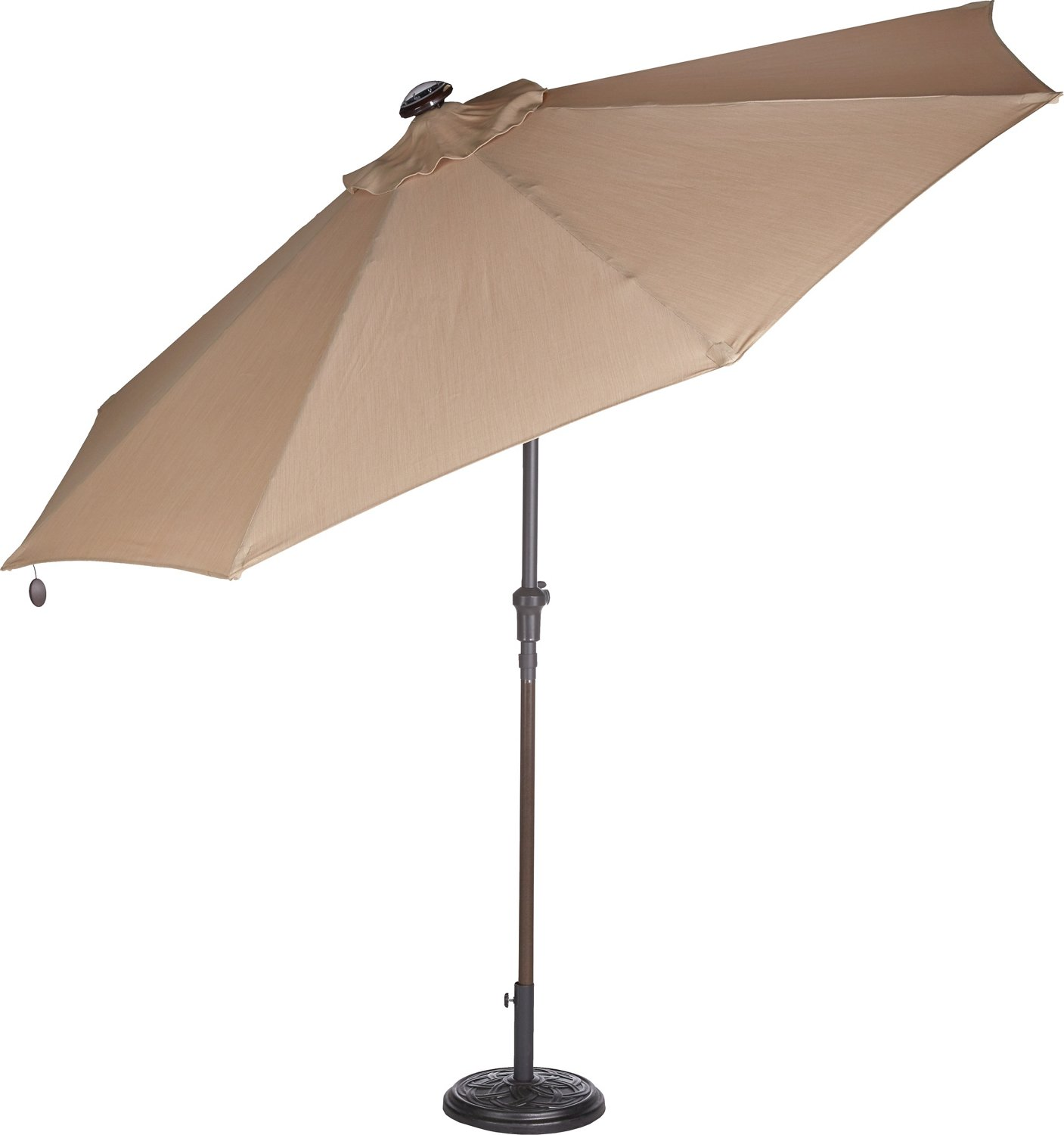 9 Ft Solar Light Umbrella