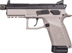 CZ P-07 Urban Gray Suppressor Ready 9mm Luger Pistol
