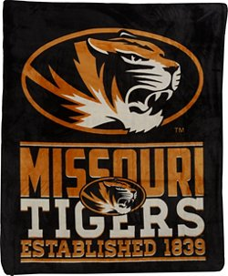The Northwest Company University of Missouri 60 in x 70 in Cloud Throw Blanket