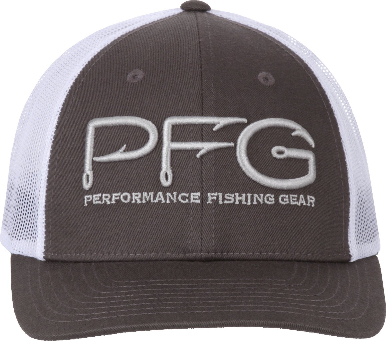 80990546f Columbia Sportswear Men s PFG Mesh Snap Back Ball Cap
