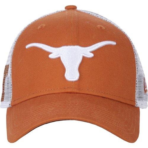 New Era Men's University of Texas 9FORTY Trucker Duel Cap