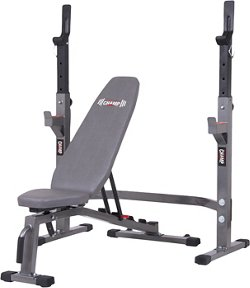 Body Champ Pro3900 Olympic Weight Bench Set