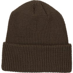 Men's Solid Roll-Up Beanie