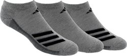 adidas Men's climacool Superlite No-Show Socks 3 Pack
