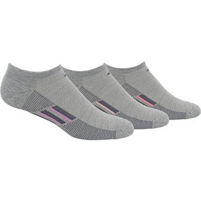 new style 108b3 7ffbd adidas climacool Superlite Stripe No-Show Socks 3 Pack