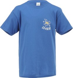 New World Graphics Girls' McNeese State University Where the Heart Is Short Sleeve T-shirt