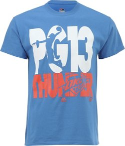 Majestic Men's Oklahoma City Thunder Paul George Voltage T-shirt