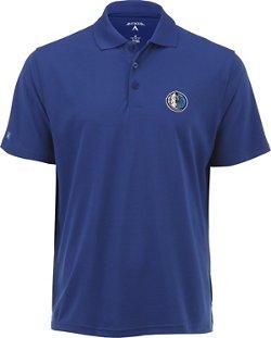 Antigua Men's Dallas Mavericks Pique Xtra-Lite Polo Shirt