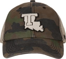 '47 Louisiana Tech University Burnett Frontline Camo Clean Up Cap