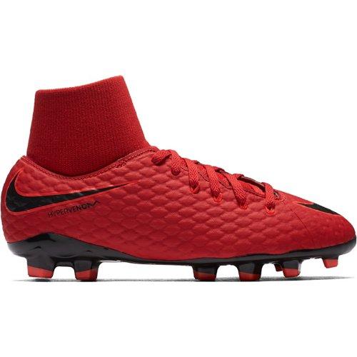 Nike Kids' Hypervenom Phelon III DF FG Soccer Cleats
