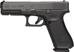 Glock G17 Gen5 9mm Full-Sized 17-Round Pistol