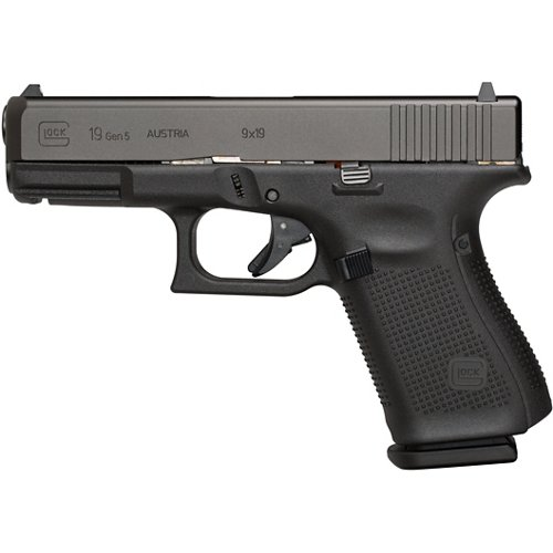GLOCK G19 Gen5 9mm Semiautomatic Pistol