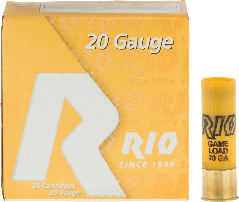 Rio Game Load 20 Gauge 8 Shotshells
