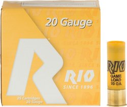 Rio Game Load 20 Gauge 8 Shotshells