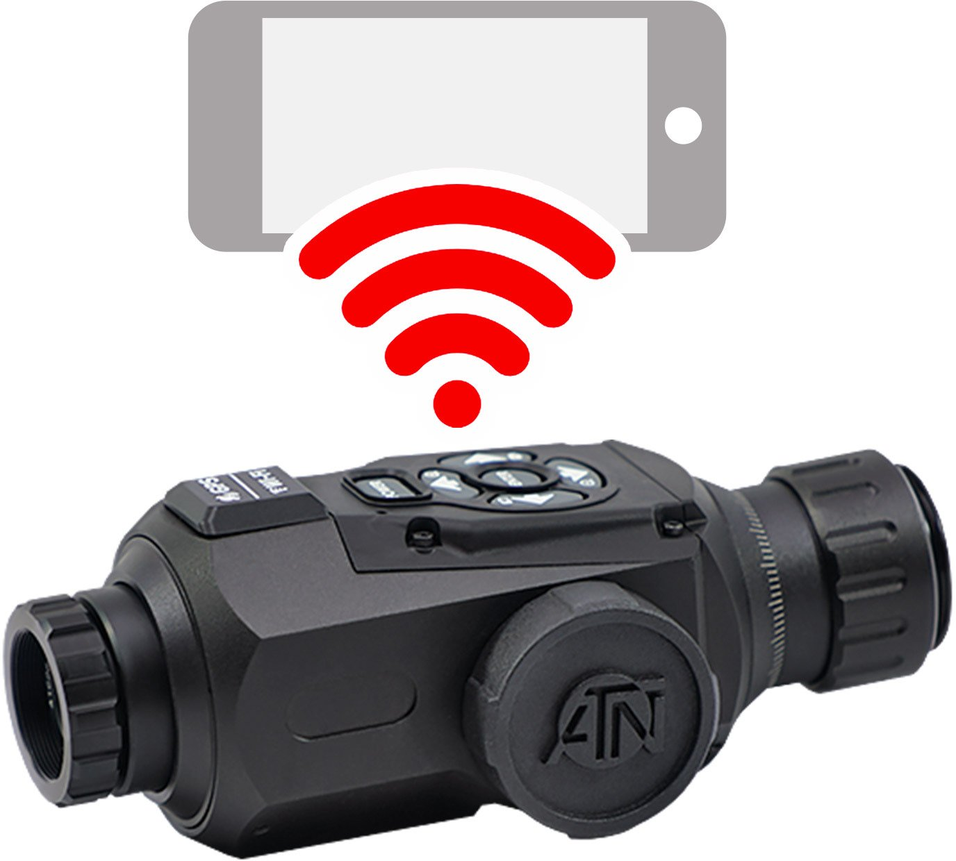 ATN OTS Smart HD 1.25 - 5 x 19 Thermal Monocular - view number 1