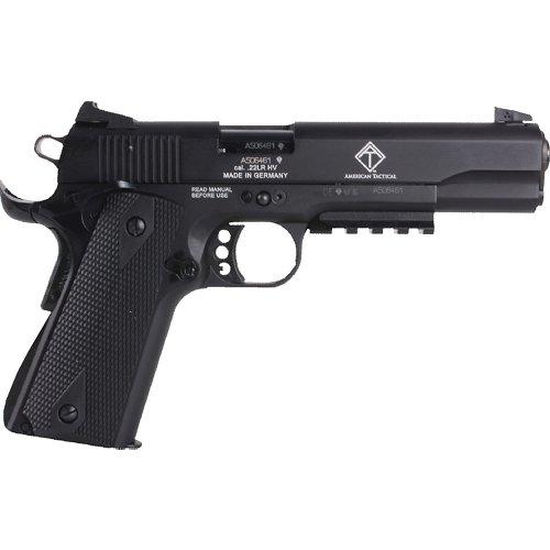 German Sport Guns 1911 .22 LR Tribute Pistol with Fake Suppressor
