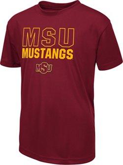 Colosseum Athletics Boys' Midwestern State University Team Mascot T-shirt