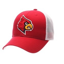 Men's University of Louisville Big Rig 2-Tone Mesh Back Cap