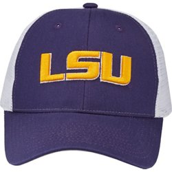 Men's Louisiana State University Big Rig 2-Tone Mesh Back Cap