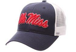 Zephyr Men's University of Mississippi Big Rig 2-Tone Mesh Back Cap