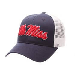 Men's University of Mississippi Big Rig 2-Tone Mesh Back Cap