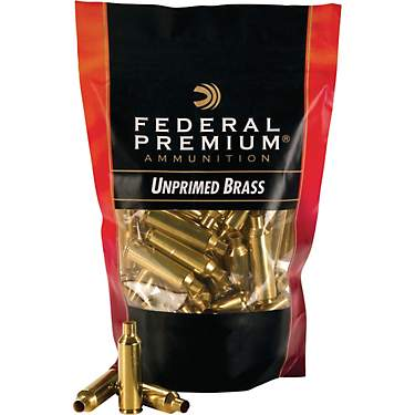 Federal Premium .223 Remington Unprimed Brass Cases 100-Pack