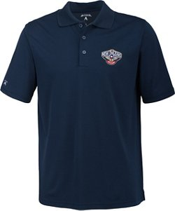 Antigua Men's New Orleans Pelicans Pique Xtra-Lite Polo Shirt
