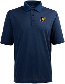 Antigua Men's Indiana Pacers Pique Xtra-Lite Polo Shirt