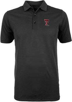 Antigua Men's Texas Tech University Quest Polo Shirt