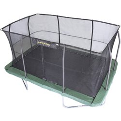 10 ft x 15 ft Rectangular Trampoline and Enclosure Combo