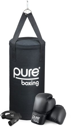 Pure Boxing Kids' 25 lb Heavy Bag Set