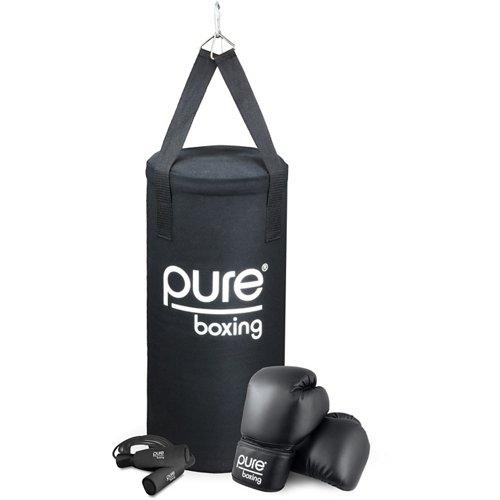 Pure Boxing Kids' 25 lb Heavy Bag Set