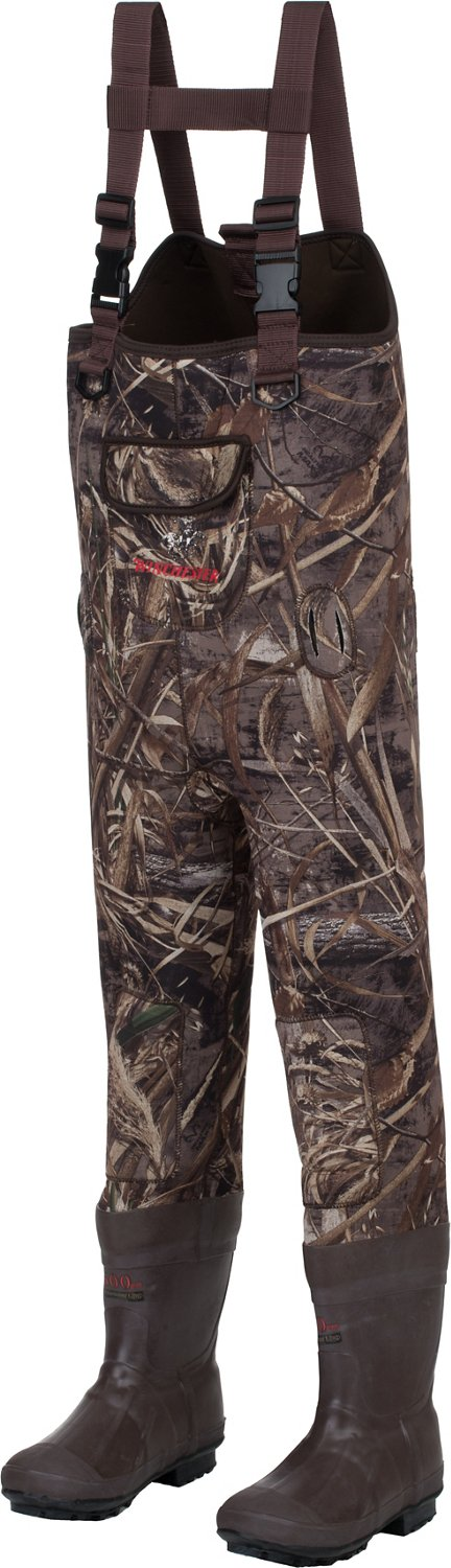 Winchester Boys' Wolf Creek II Realtree Max-5 Chest Wader - view number 2