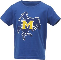 Gen2 Toddlers' McNeese State University Primary Logo Short Sleeve T-shirt