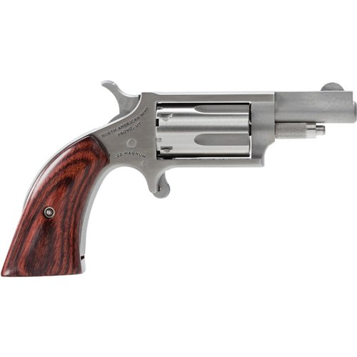 North American Arms .22 WMR Boot-Style Grip Revolver