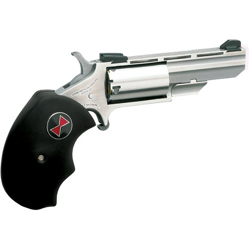 North American Arms Magnum Black Widow .22 WMR/.22 LR Revolver