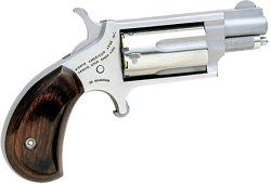 North American Arms Rosewood Grip .22 WMR Revolver