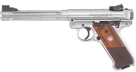 Ruger Mark IV Hunter .22 LR Pistol - view number 4