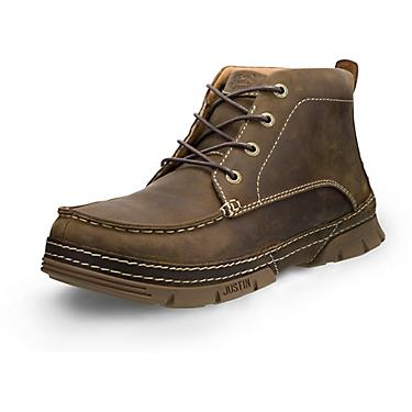 8fd5cb26f2f Justin Men's Tobar 4-Eye EH Steel Toe Lace Up Work Boots