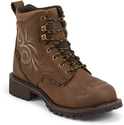 Justin Women's Katerina Waterproof Steel Toe Work Boots
