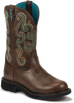 Justin Women's Tasha Waterproof Work Boots