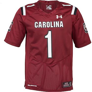 best sneakers 2f8a3 b7ee0 Under Armour Men's University of South Carolina Replica Home Football Jersey