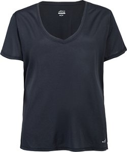 BCG Women's Turbo Plus Size V-neck Short Sleeve T-shirt