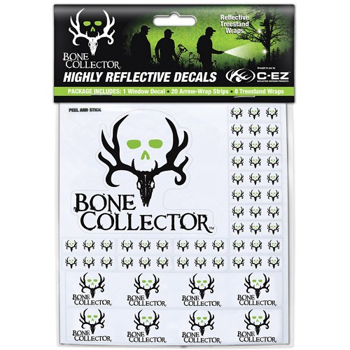 C-EZ Bone Collector Highly Reflective Arrow and Treestand Wraps