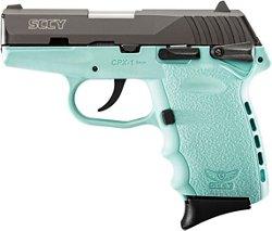 SCCY CPX-1 Carbon Robin Egg 9mm Luger Pistol